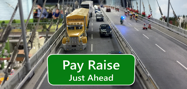 Pay Raise - Just Ahead
