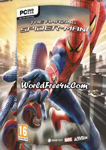 Cover Of The Amazing Spiderman Full Latest Version PC Game Free Download Mediafire Links At worldfree4u.com