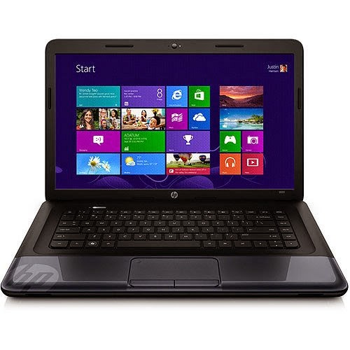 hp 2000 touchpad driver windows 8