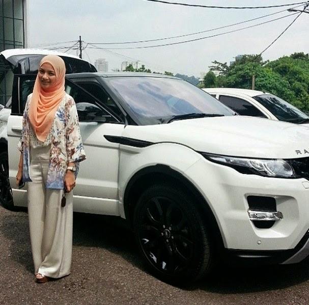 Neelofa pakai Range Rover heboh kaitkan dengan Kerabat Diraja
