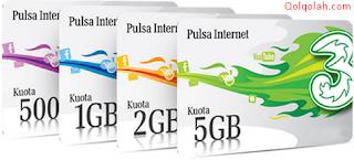 3 (tri) jagoan internet