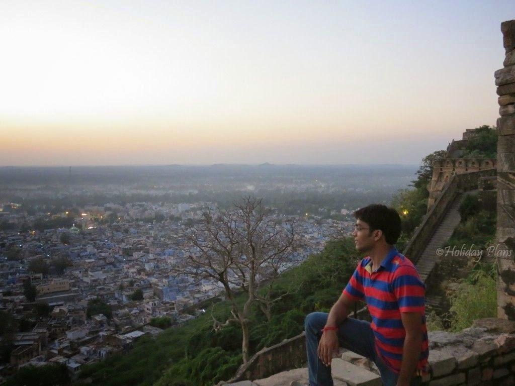 panaroma view of chittorgarh fort