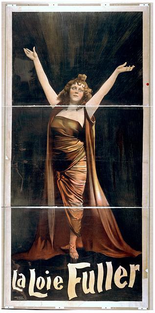 La Loie Fuller public domain image