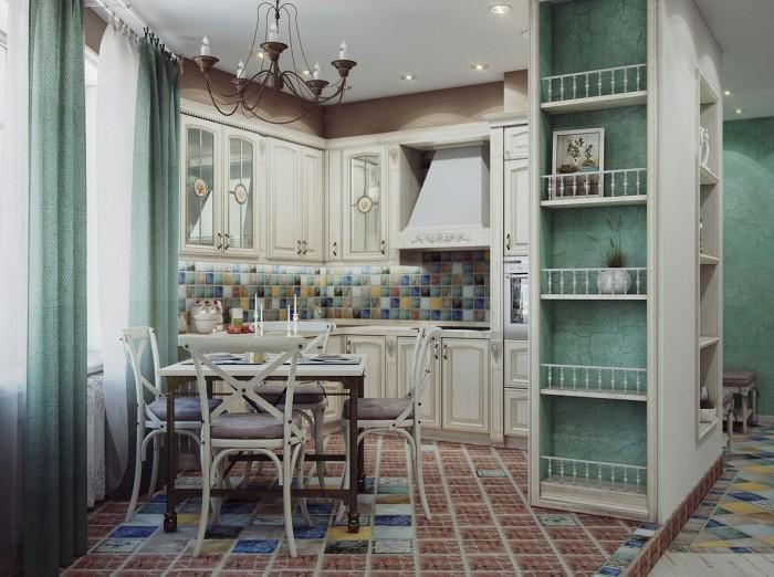 Decoration Cuisine Dappartement :  Bricolage & Décoration Des Idées de Cuisine traditionnelle luxe