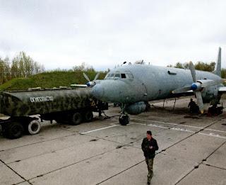 Подготовка к полету Ил 38