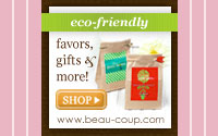 Eco-Friendly Favors • Eco-friendly & Eco-chic!