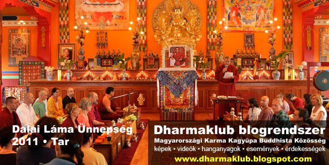 Dalai Láma ünnepség 2011