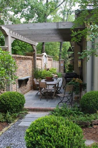 Moois en liefs tuin en veranda for Gorgeous small backyards