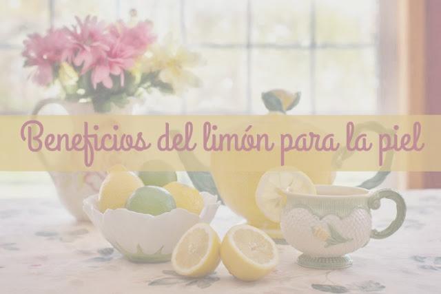 beneficios del limón en la piel
