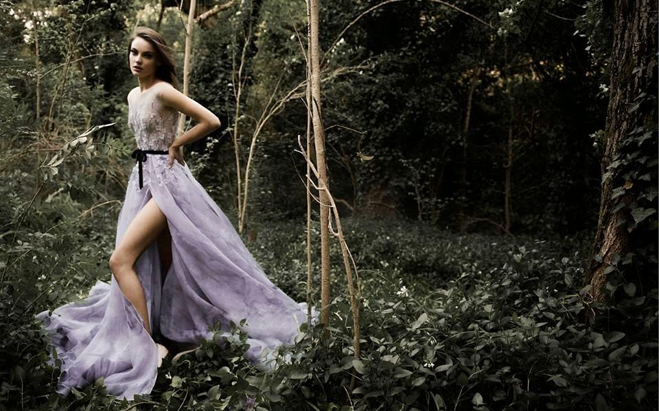 Paolo Sebastian's 2015 Evening Dress Fall Collection