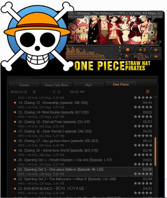 One Piece AIMP Skin Theme