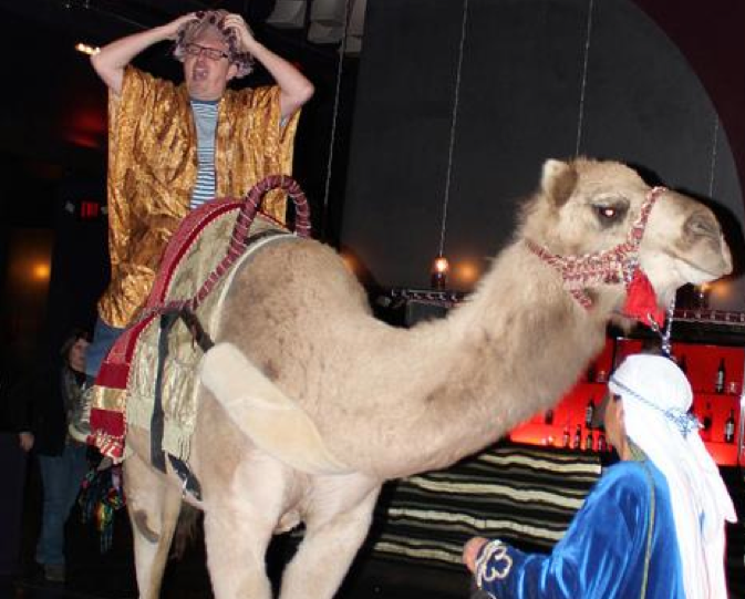 Claus ibsen davsclaus riding the apache camel 2012 james strachan riding a real camel malvernweather Images