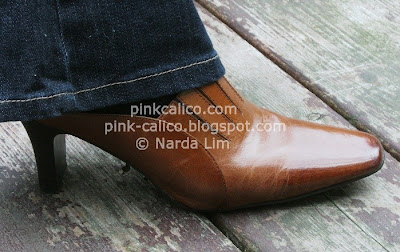Pink Calico - Reflexan Shoes