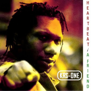 KRS ONE - HEARTBEAT & A FRIEND (SINGLE CD) (1997)