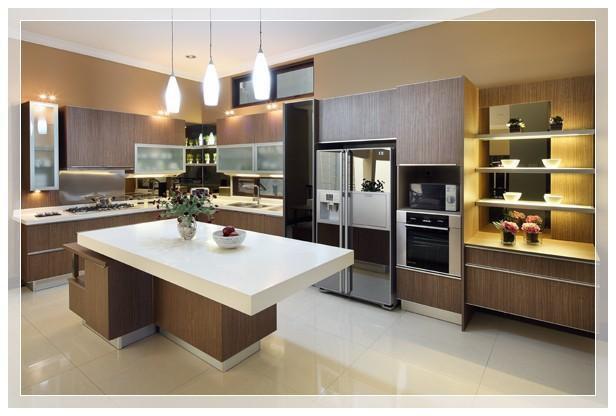 Elegant kitchen set design for Gambar kitchen set