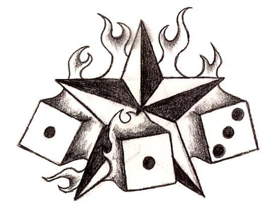 Tatuajes de estrellas diseños