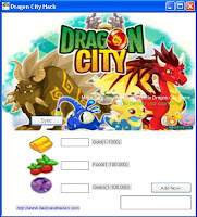 Dragon City Hack Tool Interface