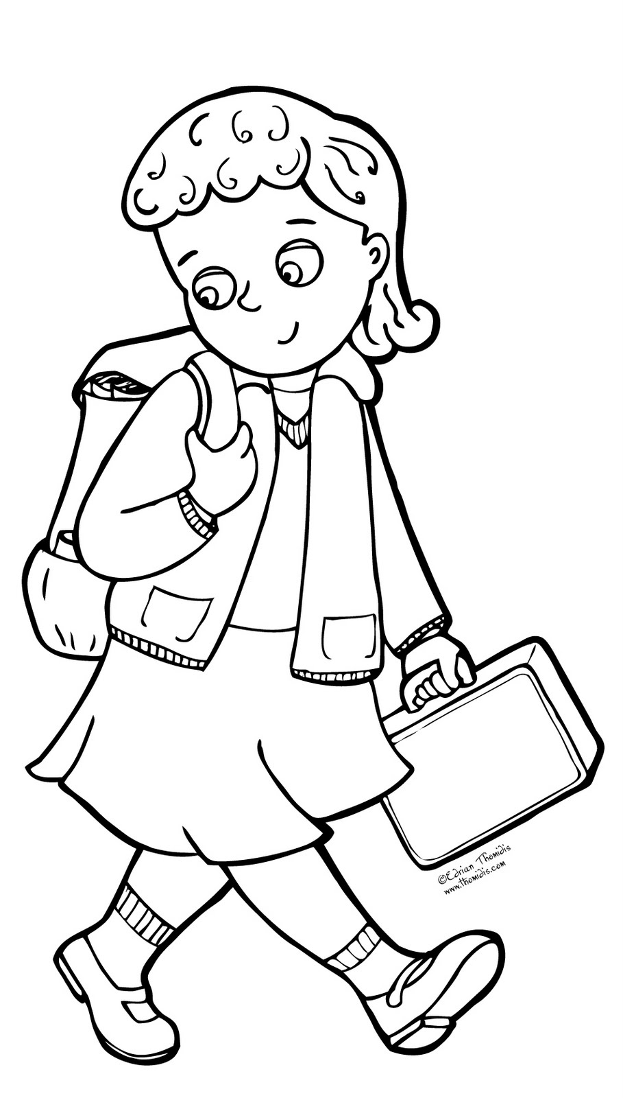 A Picture Paints A Thousand Words Free Coloring Page Free Back To School Coloring Pages