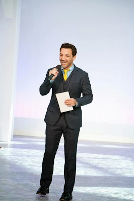 Geroge Kotsiopoulos hosting RUNWAY TO HOPE's charity fashion show in Orlando, FL, Sept 2011