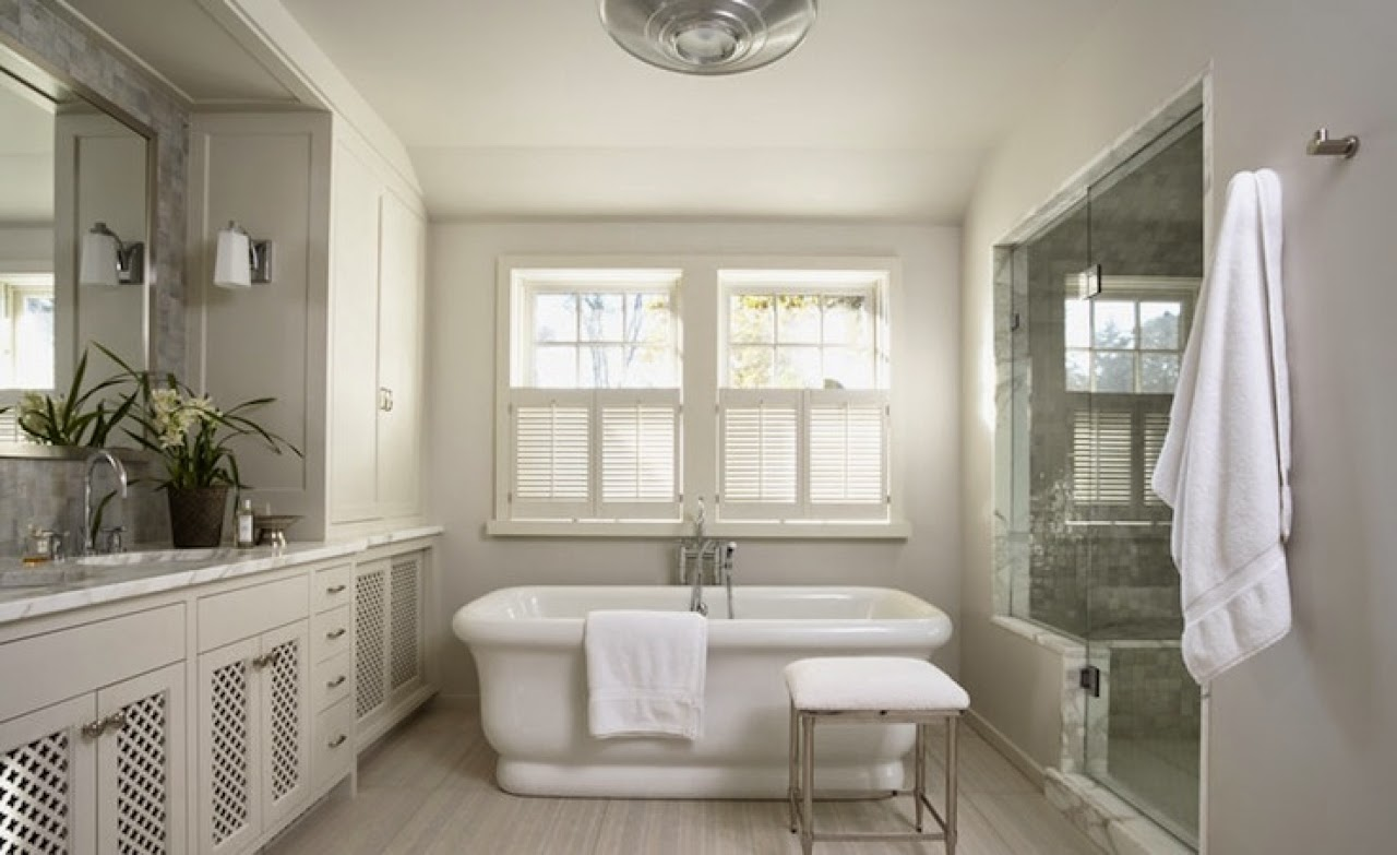 Beautiful Beautiful White Bathrooms In Bathroom Cabinets Glass Shower