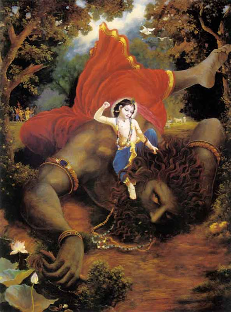 balaram slays pralamba demon
