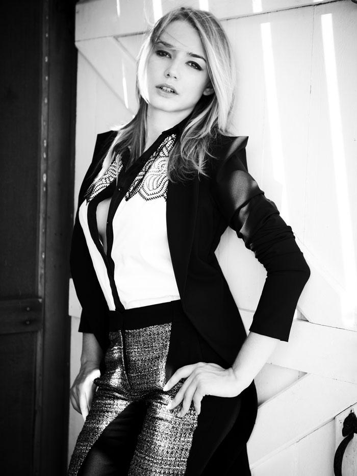 Oksana Akinshina 2014 Oksana Akinshina For in Style