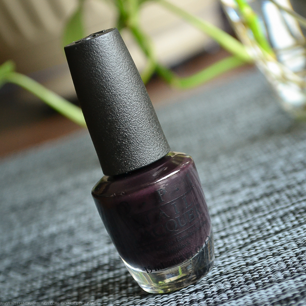 OPI Nail Polish Lincoln Park After Dark