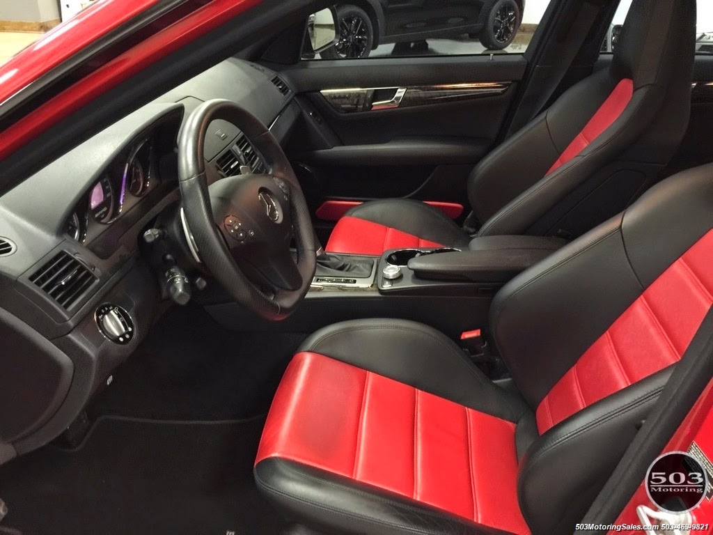 Benztuning mercedes benz w204 c63 amg mars red for Interieur w204