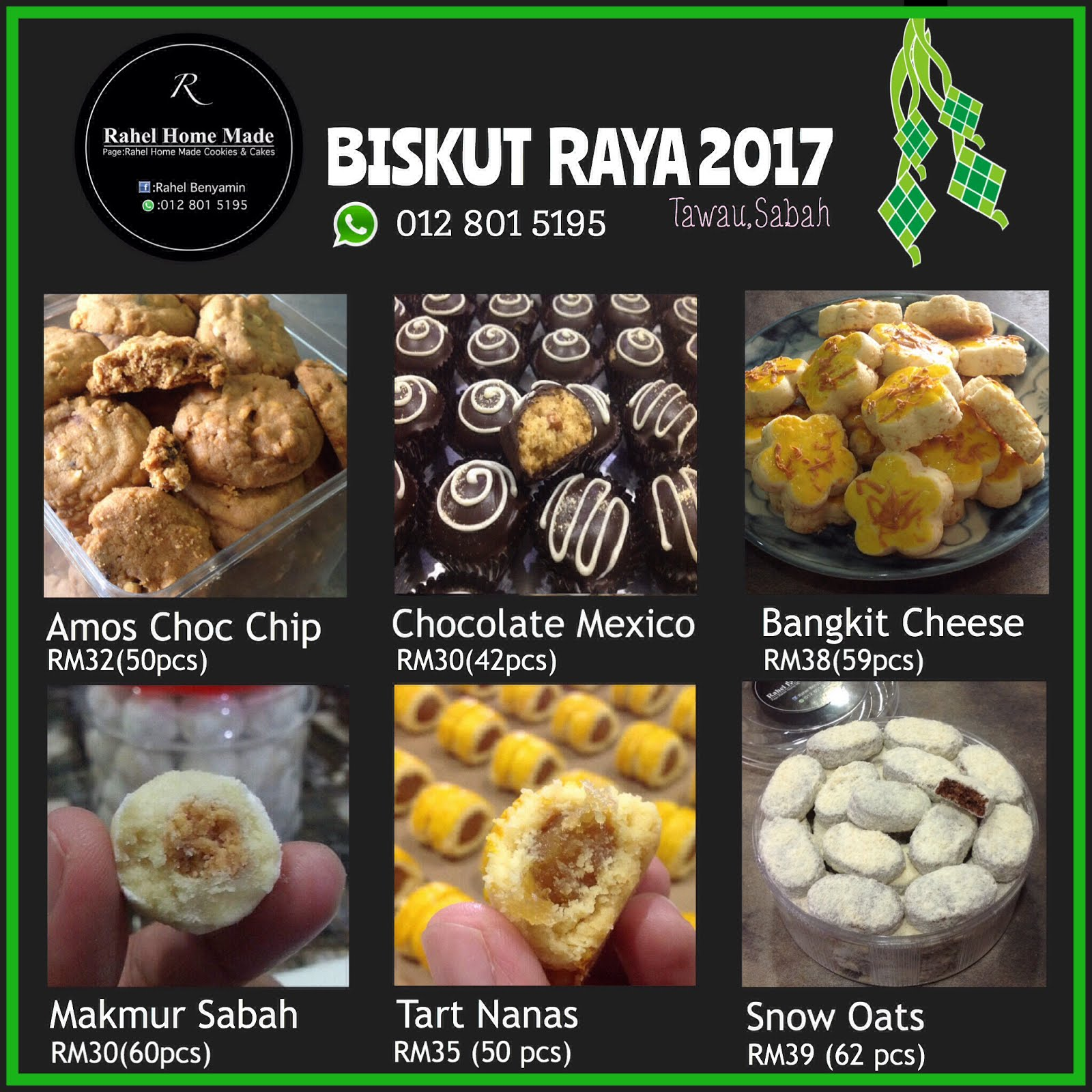 OPEN ORDER BISKUT RAYA 2017