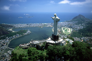 Statue Of Christ The Redeemer Brazil