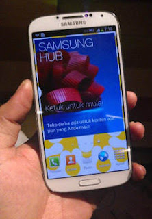 Harga Resmi Samsung Galaxy S4 di Indonesia