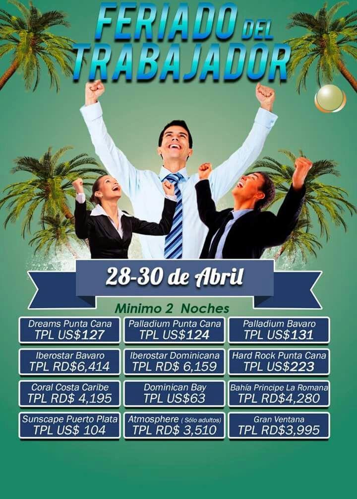 Feriado del trabajador del 28-30 De abril.