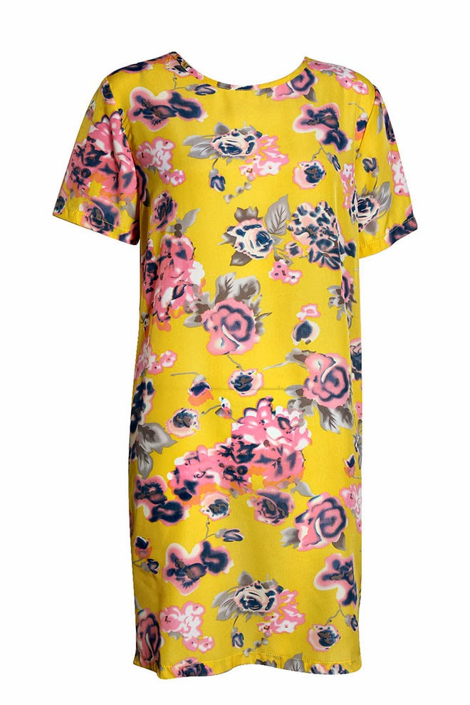 Abbie-Smudge-Floral-Printed-Dress