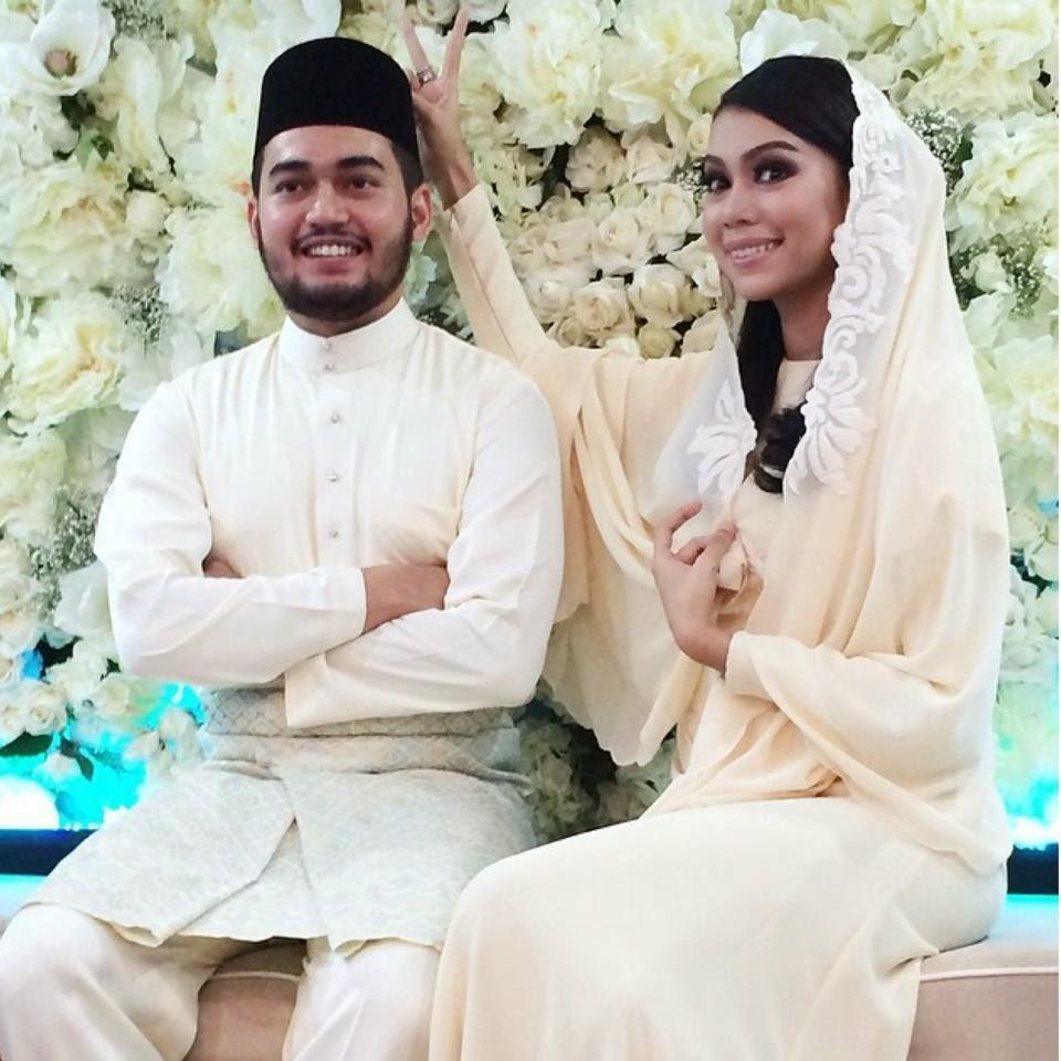 10 Gambar Sekitar Majlis Pertunangan Sharifah Sakinah Aliff Adha