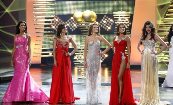 Senorita Colombia 2012 Top 5 Finalistas Finalists