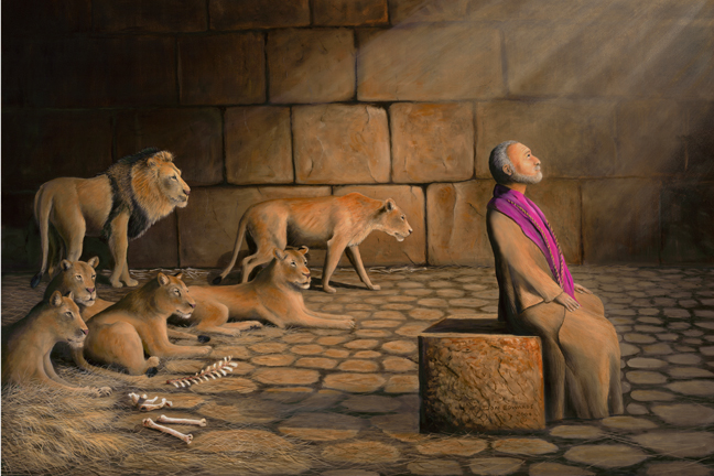 daniel in the lions den and john in the den of herod deliverance comes in different ways