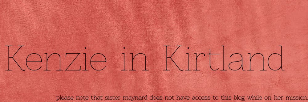 Kenzie in Kirtland