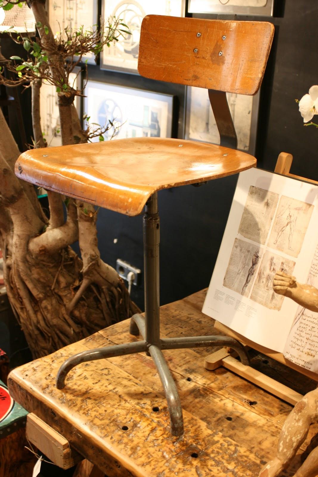 Valencia vintage antigua silla de delineante 180 - Delineante valencia ...