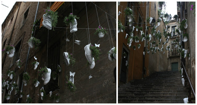 Girona festiwal kwiatow