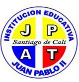 ESCUDO I.E JUAN PABLO II