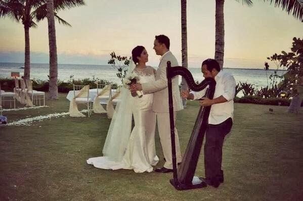 Faye cainglet wedding