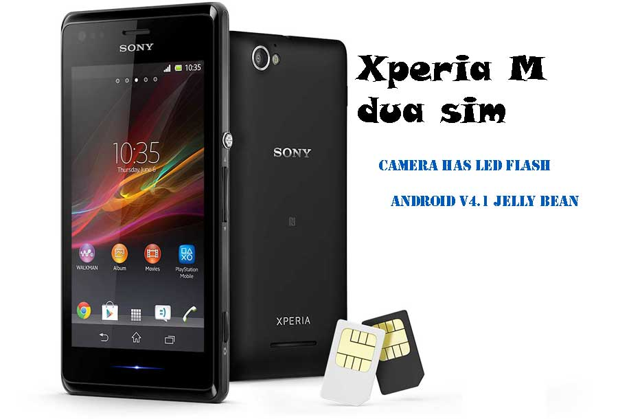 Xperia M Specifications Sony Xperia M d...
