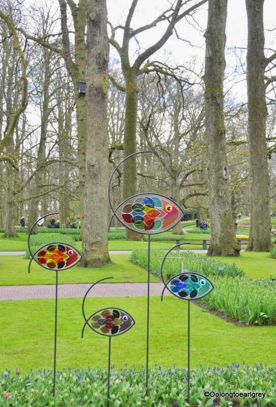 Art work, Keukenhof Gardens, The Netherlands