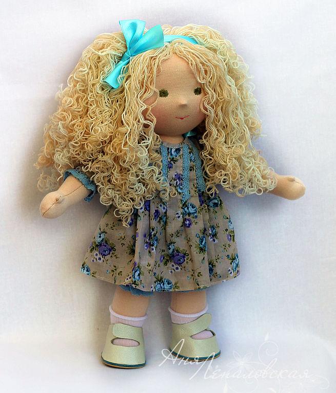 Куклы с настоящими волосами своими руками