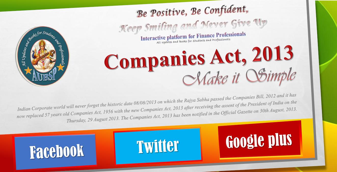 E-Book on the Companies Act, 2013