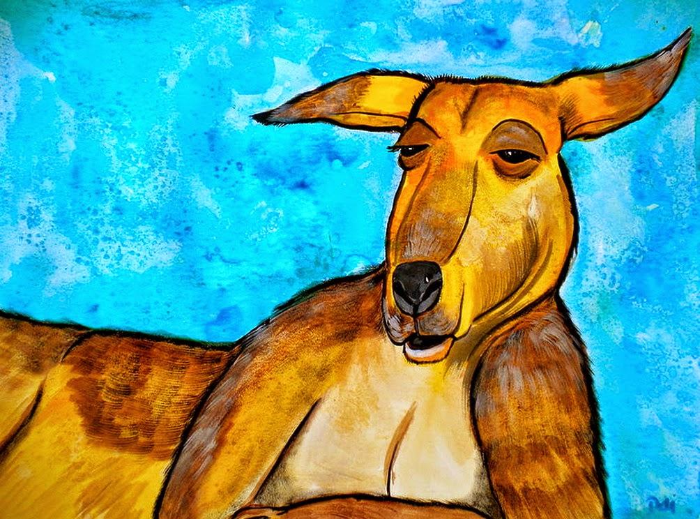 retratos-de-animales-oleos