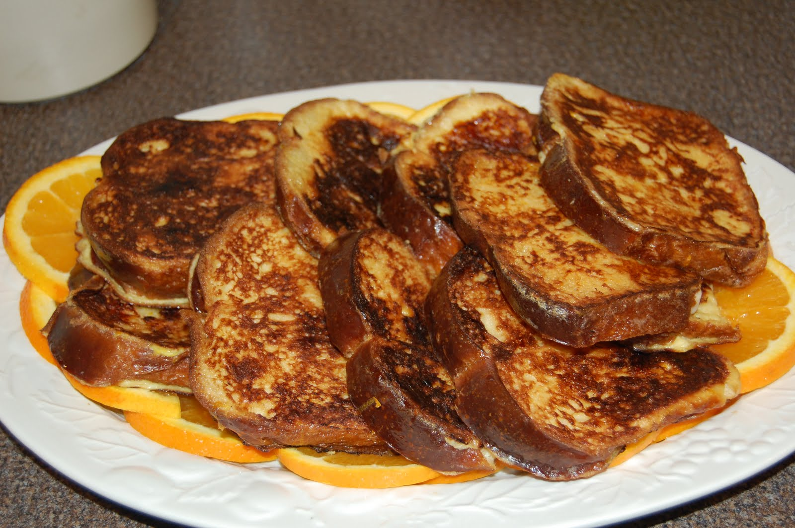 Decadent Custard Orange-Vanilla Brioche French Toast Recipes ...