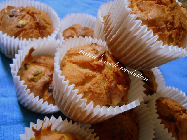 Muffins αλμυρά