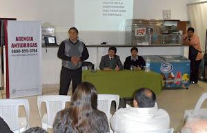 La Agencia Antidrogas capacitó a entrenadores de Universitario