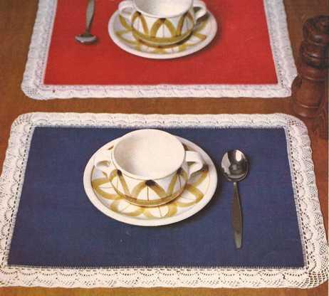 """""""Set para el desayuno"""" a Crochet o Ganchillo"""